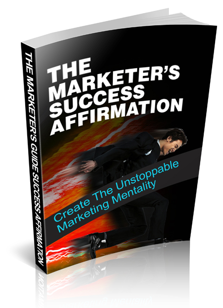 Marketers Success Affirmation