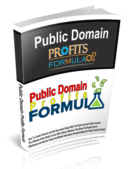 Public Domain Profits Formula