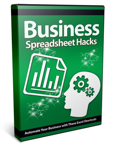 Business Spreadsheet Hacks