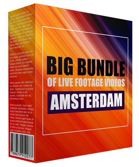 Big Bundle Of Live Footage Videos - Amsterdam