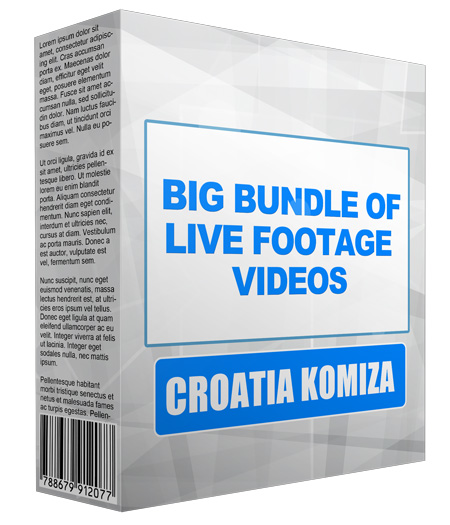 Big Bundle Of Live Footage Videos - Croatia Komiza