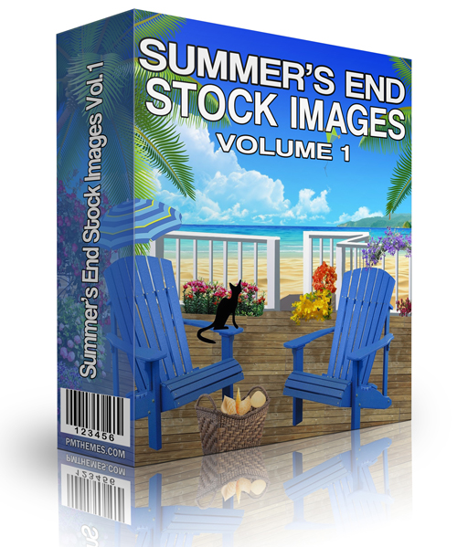Summer's End Stock Image Volume 1