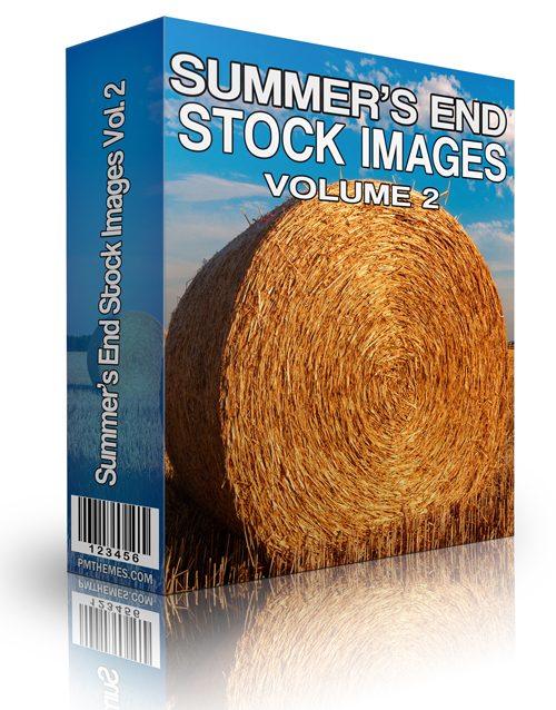 Summer's End Stock Image Volume 2