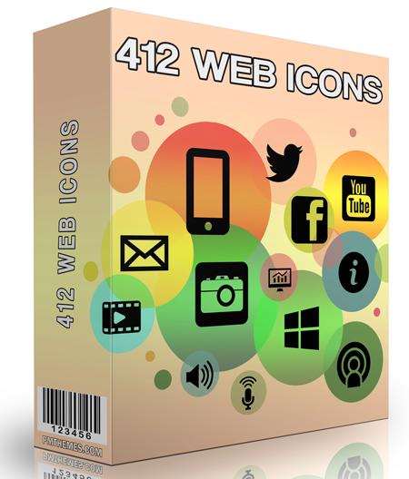 412 Web Icons