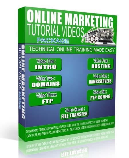 Online Marketing Training Videos Package