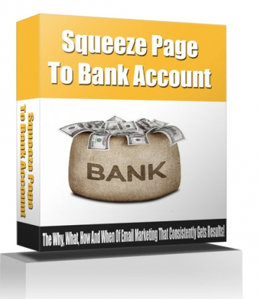Squeeze Page To Bank Account