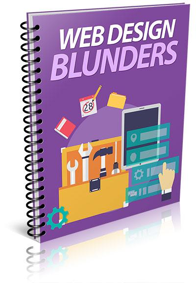 Web Design Blunders