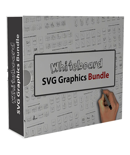 Whiteboard SVG Graphics Bundle