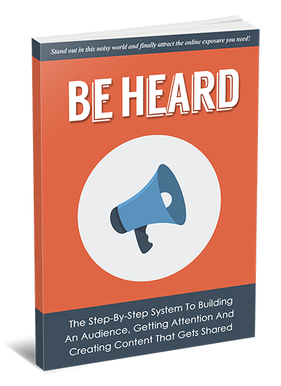 Be Heard eBook