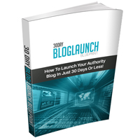 30 Day Blog Launch Blueprint