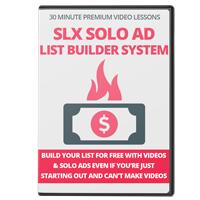 SLX Solo Ad List Builder System