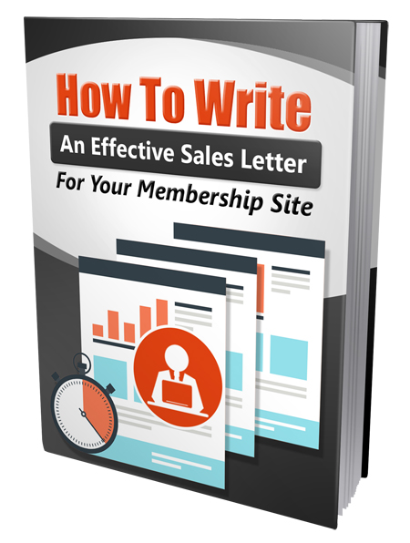 Write An Effective Membership Sales Letter
