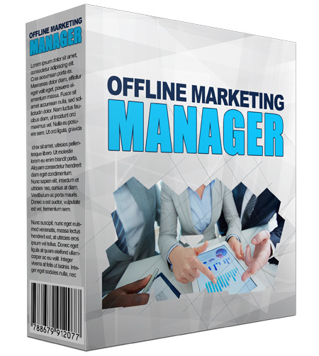 Offline Marketing Manager Software
