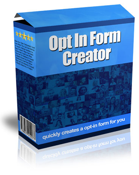 Opt In Form Creator