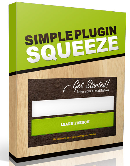 Simple Squeeze Page Plugin