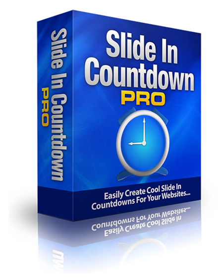 Slide In Countdown Pro
