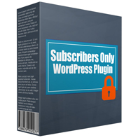 Subscribers Only WP Plugin