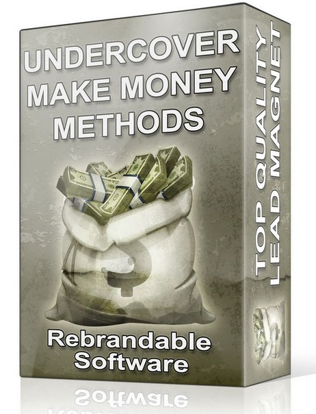 Under Cover Make Money Methods Software