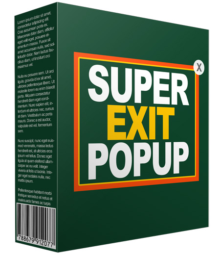 Unique Exit Popup