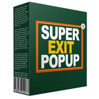 Unique Exit Popup