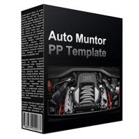 Auto Muntor Multipurpose Powerpoint Template