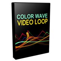 Color Wave Video Loops Pack