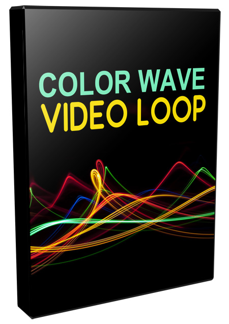 Color Wave Video Loops Pack