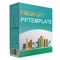 Fresh City Multipurpose Powerpoint Template