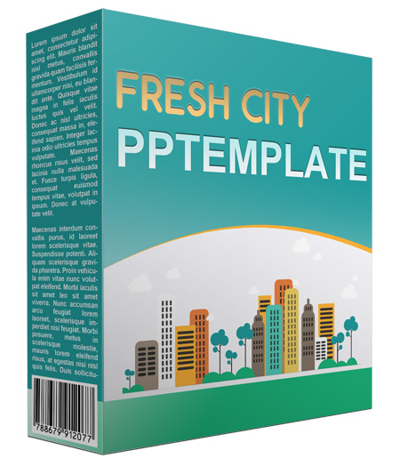 Fresh City Multipurpose Powerpoint Template