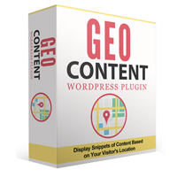 GeoContent WordPress Plugin