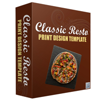 Classic Resto Print Design Template