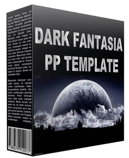 Dark Fantasia Power Point Template