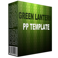 Green Lantern Multipurpose PowerPoint Template