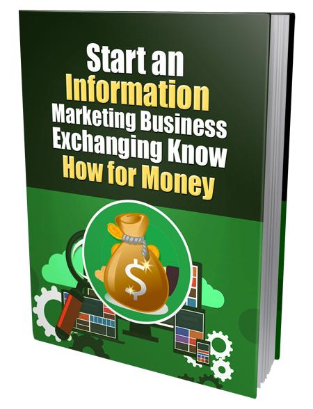 Start An Information Marketing Business
