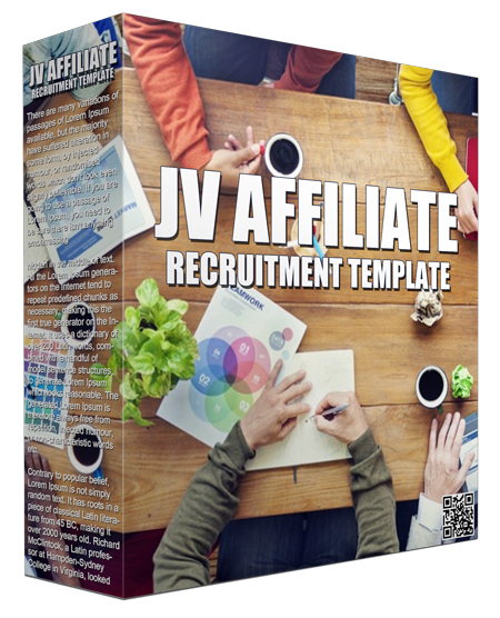 JV Affiliate Recruitment Template Guide