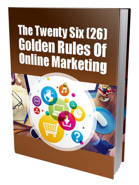 Golden Rules of Online Marketing
