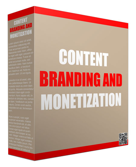 Content Branding and Monetization Templates