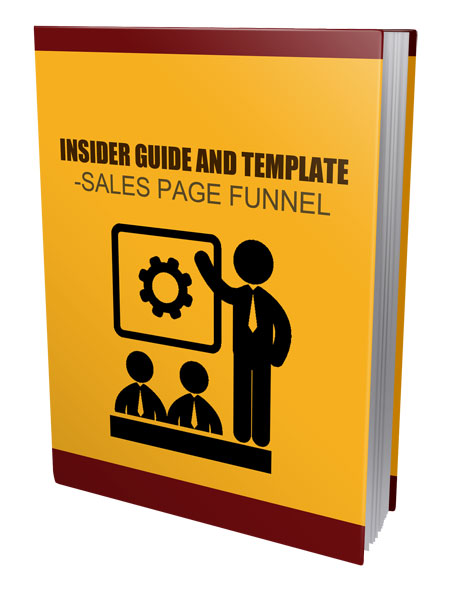 Insider Guide Template - Sales Page Funnel