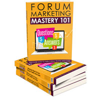 Forum Marketing Mastery 101 – Upsell