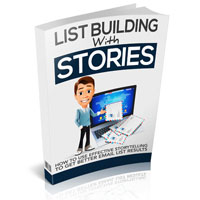List Building With Stories – Upsell