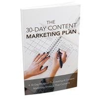 30 Days Content Marketing Plan