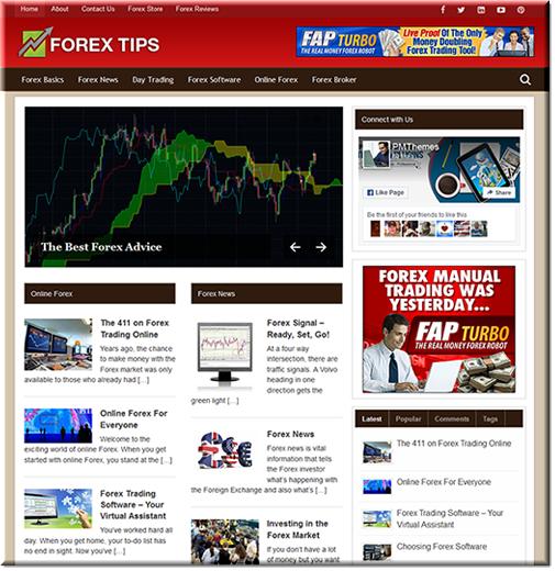 Forex PLR Niche Blog