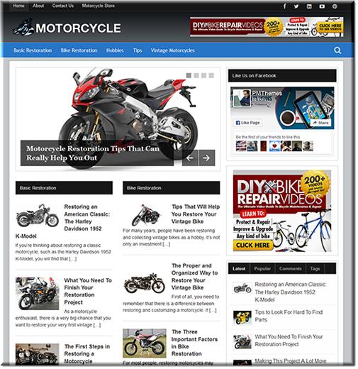 Motorcycle Restoration PLR Blog