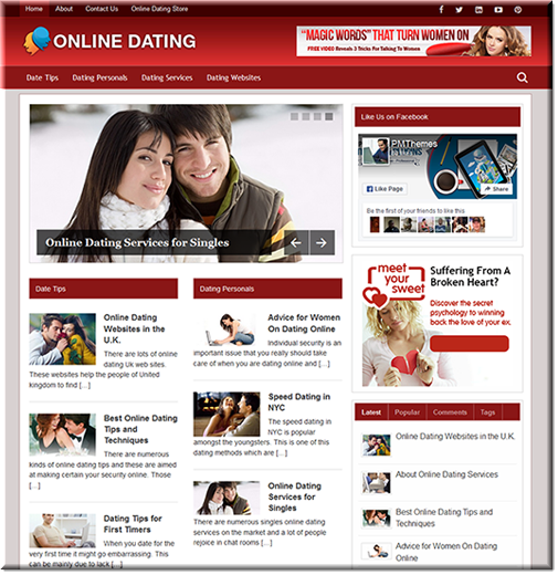 Blog online dating