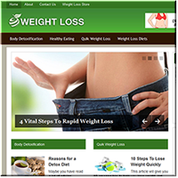 Weight Loss PLR Niche Blog