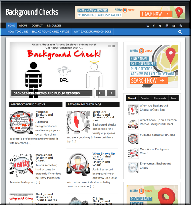 Background Checks WP Blog