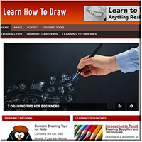 Learn to Draw PLR Site