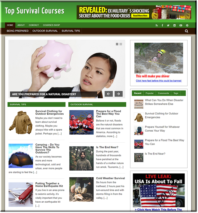 Survival Courses Turnkey Blog