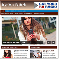 Text Your Ex Back Turnkey Site