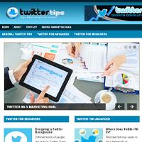 Twitter Niche PLR Blog